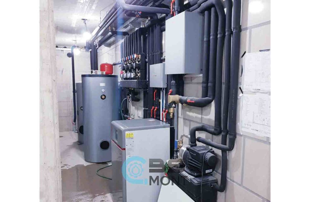 Strojen instalacije BS Mont